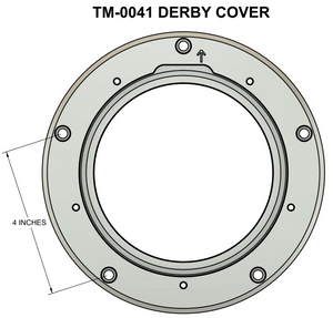 Fitment diagram for Trask Performance Derby Covers