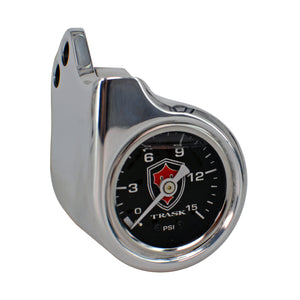 Harley Twin Cam Boost Gauge Chrome