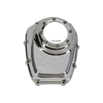 Black Harley M8 Cam Cover with Window