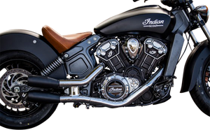 INDIAN SCOUT SLIPON MUFFLERS