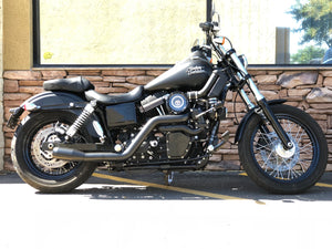 Harley Dyna Turbo Kit on Harley Street Bob