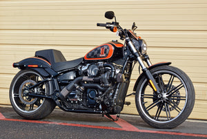 Harley Softail with Assault Turbo Kit for an M8