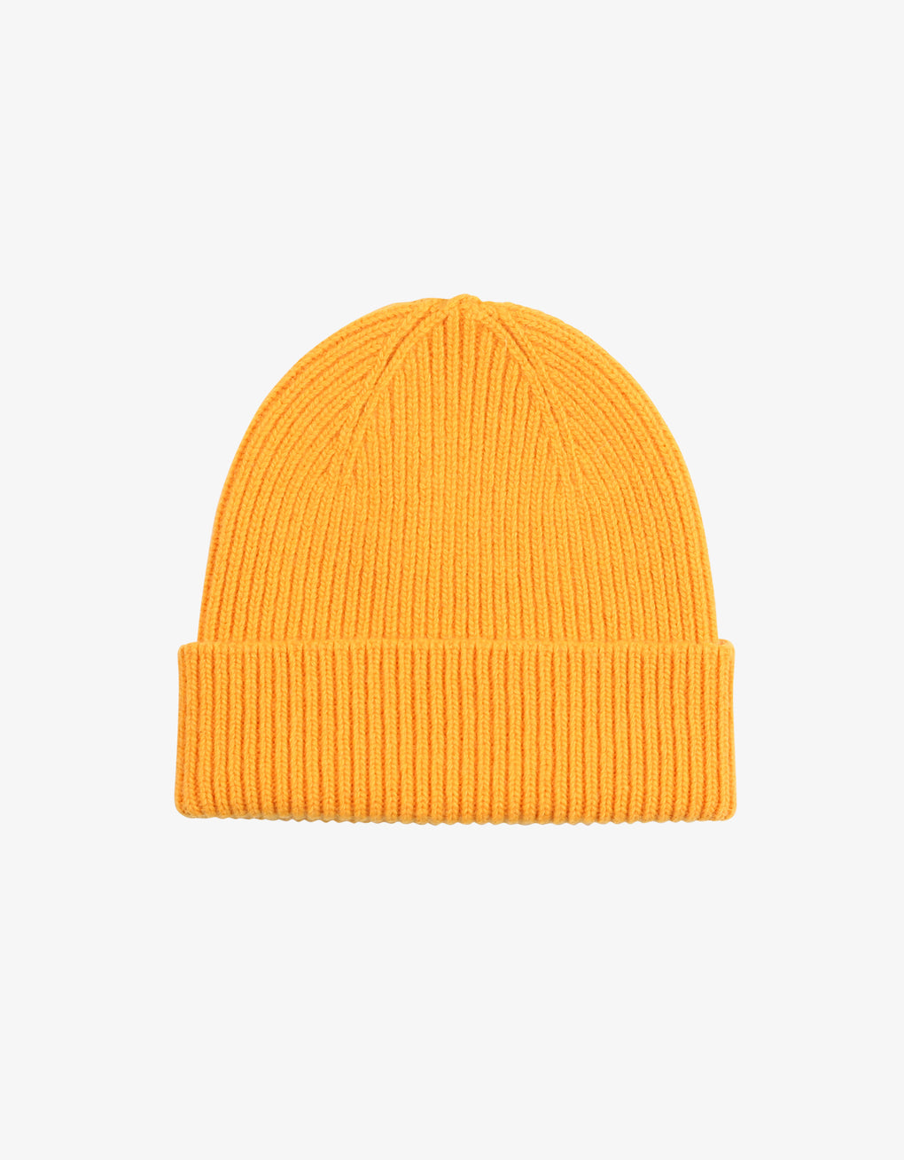 Colorful Standard Merino Wool Beanie Beanie Burned Yellow