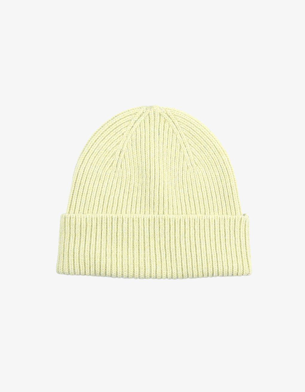 Colorful Standard Merino Wool Beanie Beanie Soft Yellow