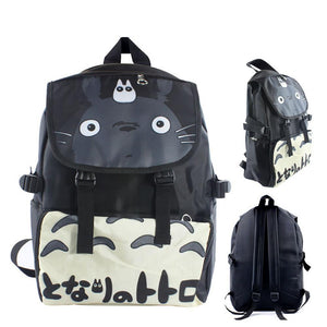 "Anime Totoro 17"" Canvas Bag Backpack"