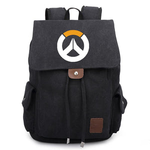 Game Overwatch Rucksack Backpack