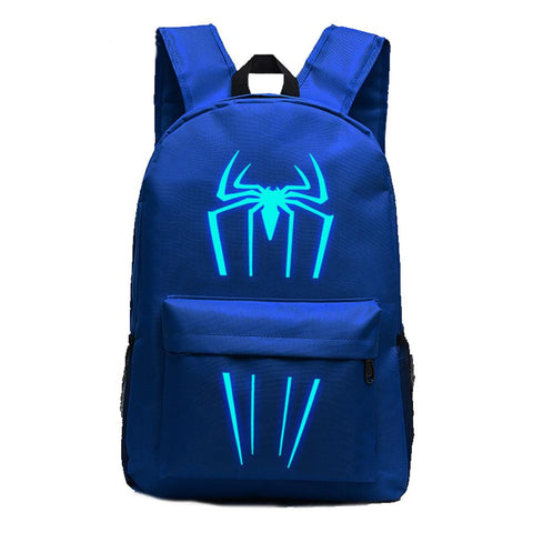 Marvel Comic Spiderman Luminous Computer Backpack 19X12'' OTSB1010