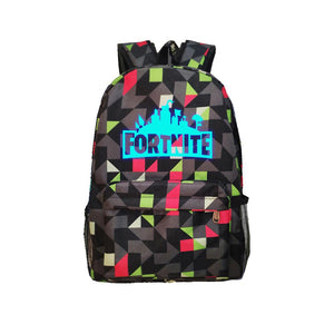 "Game Fortnite 17"" Canvas Luminous Bag Backpack OTSB026"