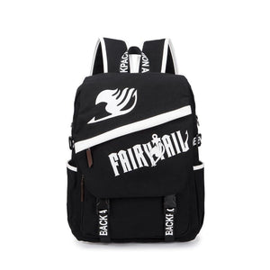 Anime Comics Fairy Tail Backpack For Teens