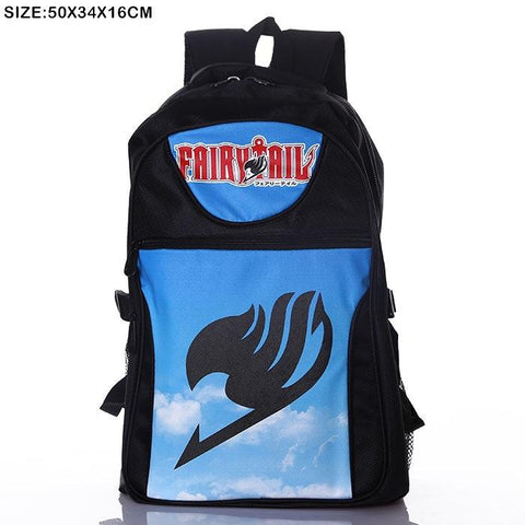 Anime Comics Fairy Tail Teens Backpack