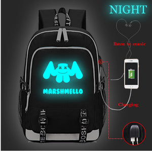 DJ Marshmello College Backpack