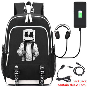DJ Marshmello Backpack