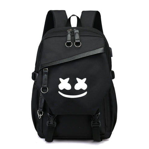 DJ Marshmello School Bag Backpack
