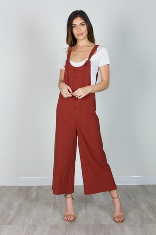 Basic Oversized Jumpsuit