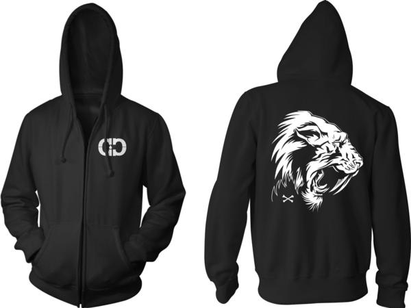 Sabertooth Zip Up Hoodie