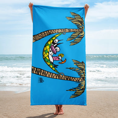 Relaxing Ralph Sublimated Towel