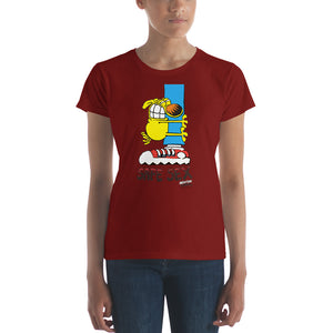 Grimmy Safe Sex Women's short sleeve t-shirt