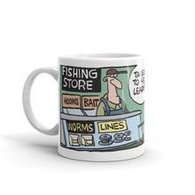 Load image into Gallery viewer, Take me to your leaders fishing store mug