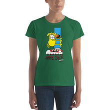 Load image into Gallery viewer, Grimmy Safe Sex Women's short sleeve t-shirt