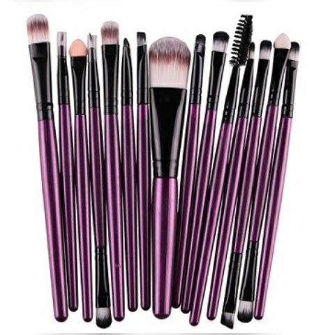 Purple& Black Brushes