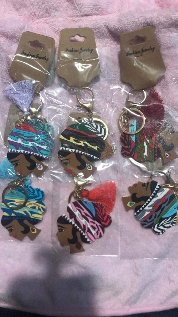 Melanated Key Chain