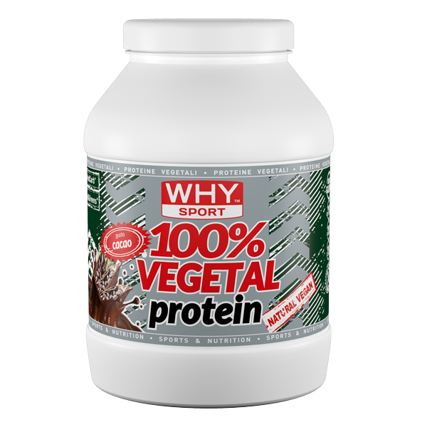 Vegetal 100% Protein 750g - Why Sport