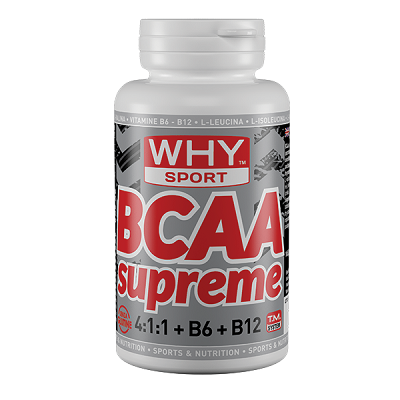 BCAA Supreme 4:1:1 + B6/B12 - Why Sport