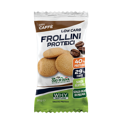 Low Carb Frollini Proteici 30g - Why Nature