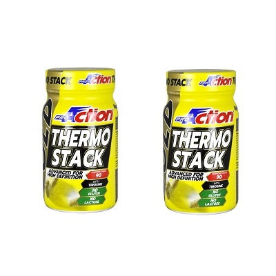 SUPER PROMO 2 x Gold Thermo Stack 90cpr - Pro Action