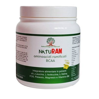 NatuRam BCAA 300g Gusto Lime - Nativa Integratori Naturali