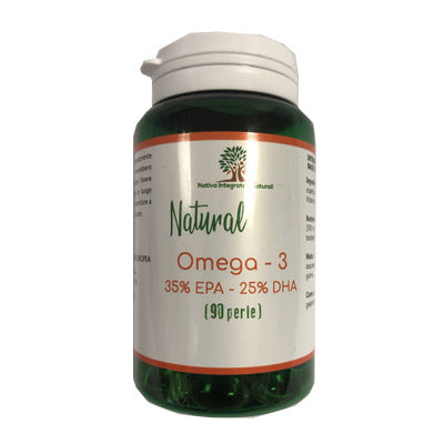 Natural Omega 3 90 perle - Nativa Integratori Naturali