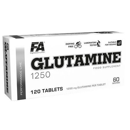 Glutamine 1250 120tab - FA Fitness Authority