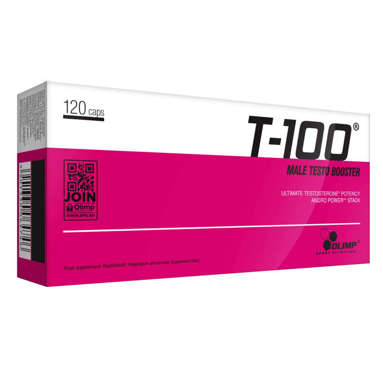 T100 Male Testo Booster 120caps - Olimp Sport Nutrition
