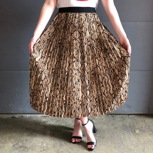 cheetah is a neutral skirt