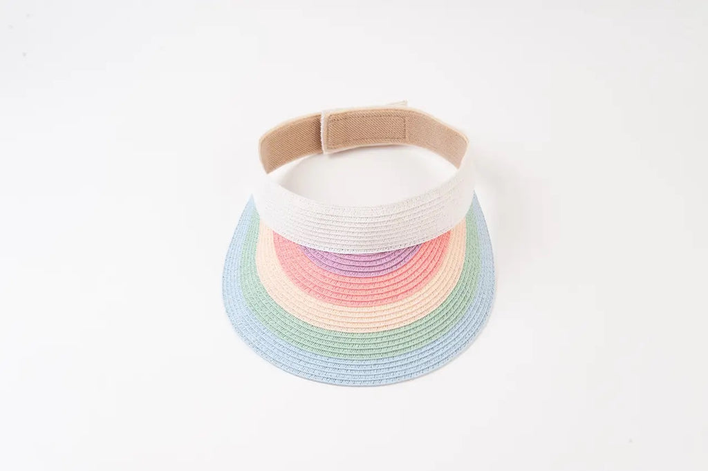 hawaii rainbow visor