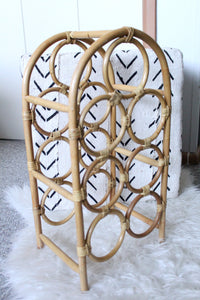 elizabeth o. vintage - Bamboo Wine Holder