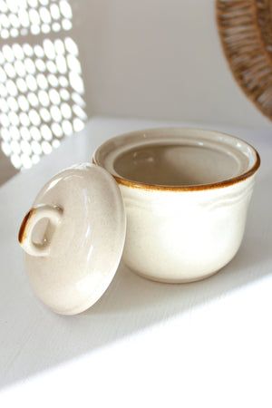 Ceramic Jar with Lid