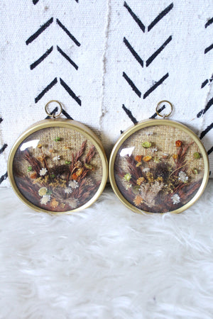 elizabeth o. vintage - Dried Flower Art Set
