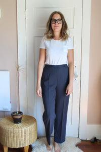 elizabeth o. vintage - High Waisted Dress Pant