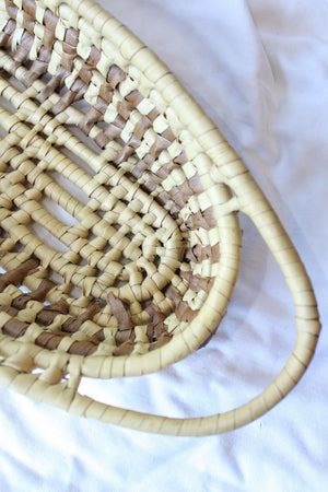 Long Oval Coil Basket