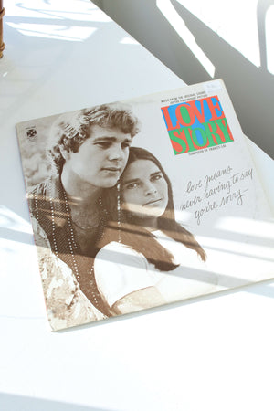 Love Story Soundtrack Record