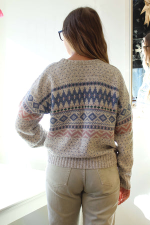 Pastel Fair Isle Sweater