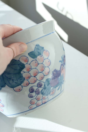 Pink and Blue Planter