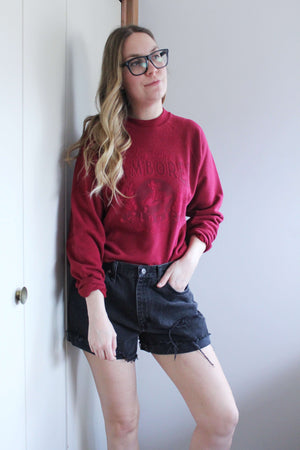 Red Big Valley Jamboree Sweatshirt - elizabeth o. vintage