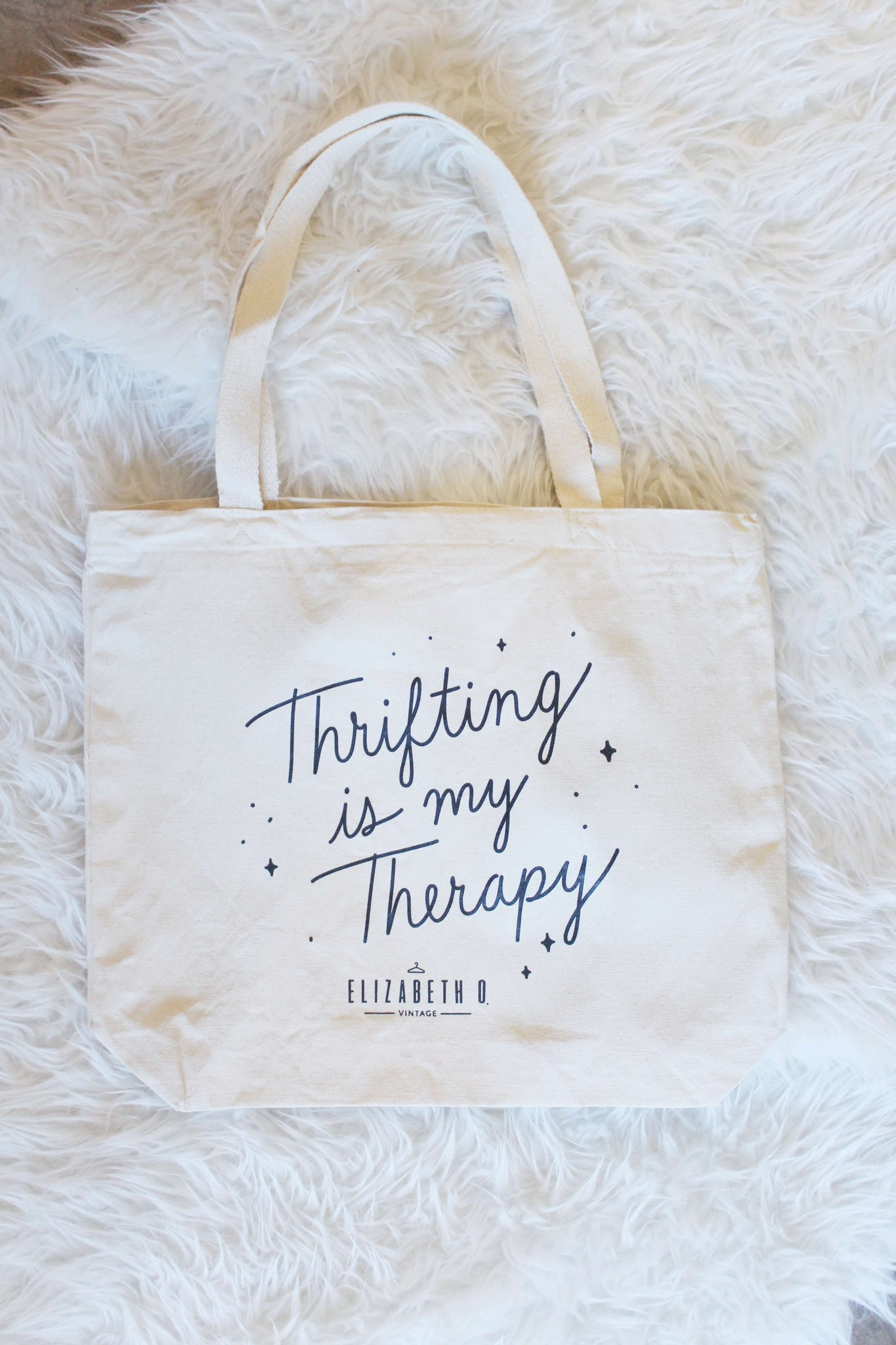 Thrifting is my Therapy Tote Bag