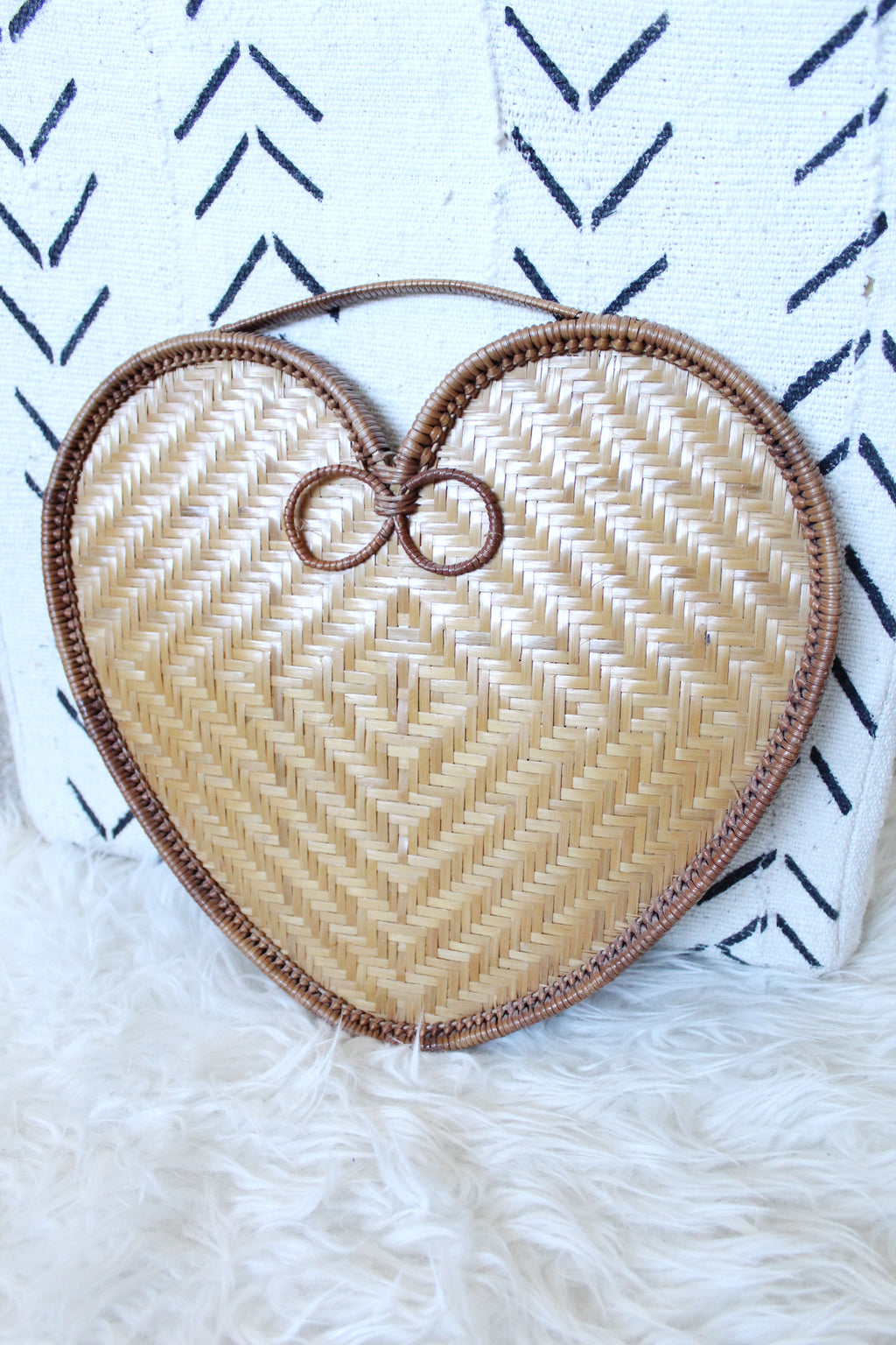 Woven Heart Wall Decor