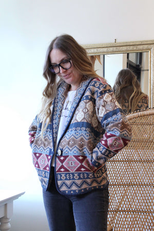 Woven Printed Jacket