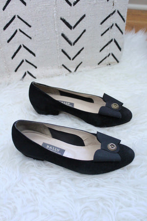 Black Bow Shoes