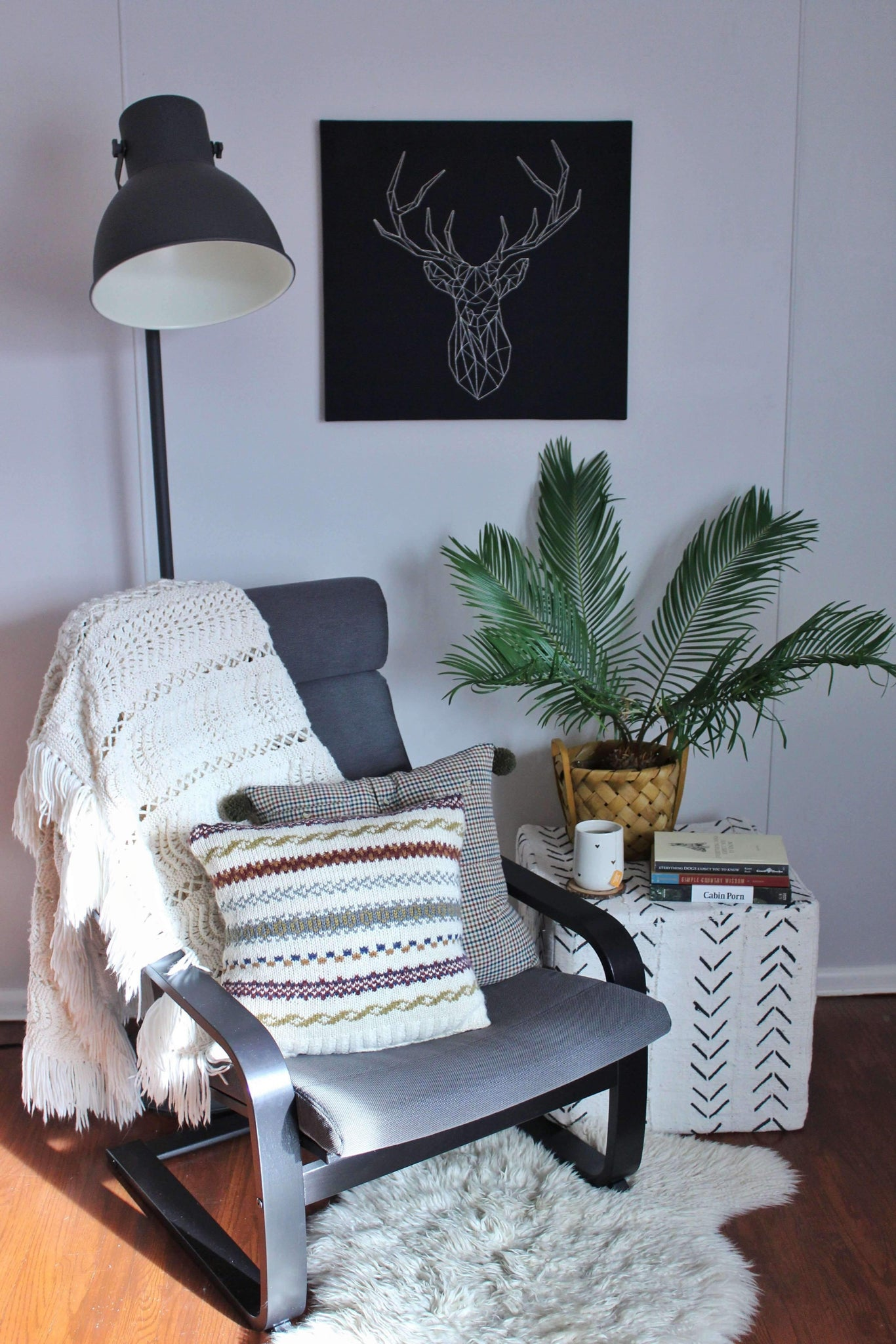 elizabeth o. vintage - Fair Isle Sweater Pillow