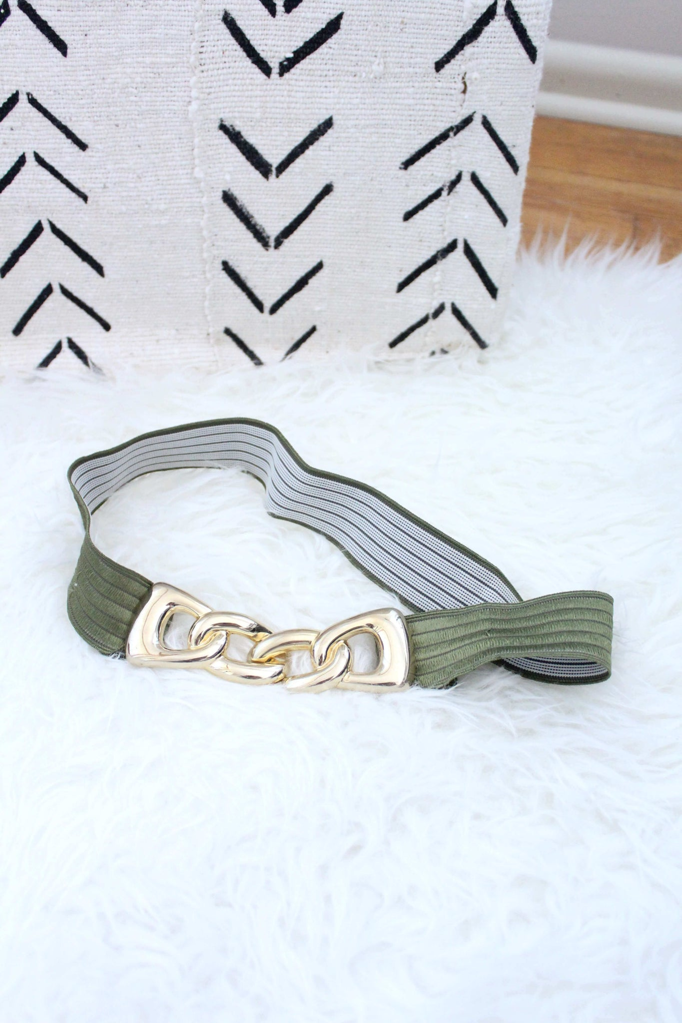 Gold and Green Belt